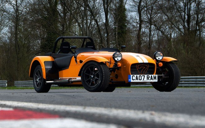 Caterham Supersport Front Three Quarter On Track1 660x413