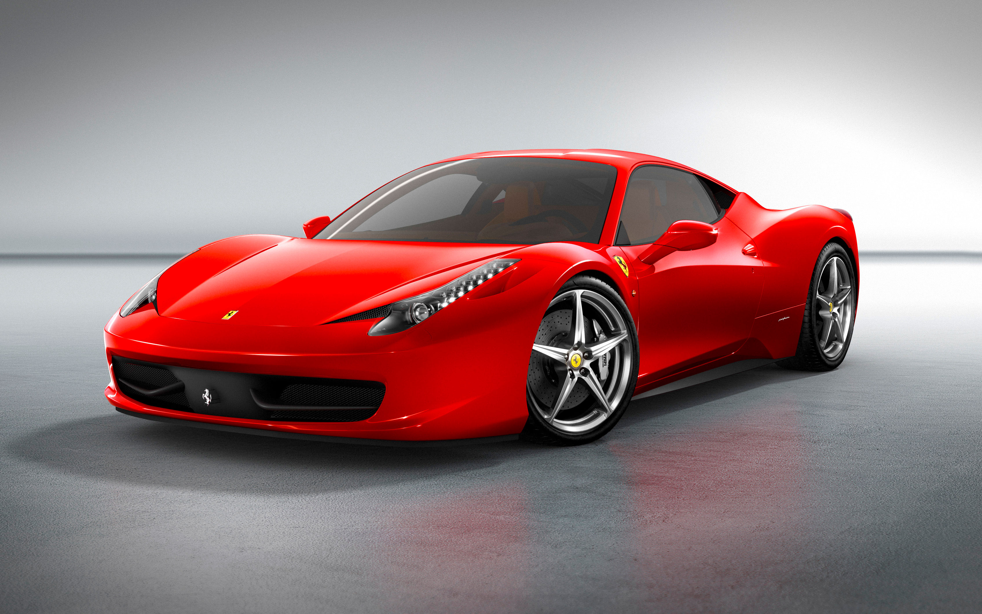 Ferrari 458 Italia Front Three Quarter1