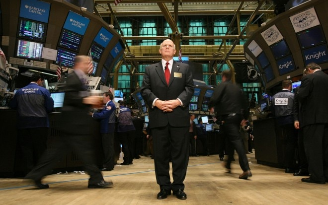 Gm Ceo Dan Akerson In New York Stock Exchange1 660x413