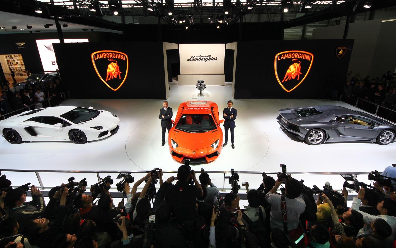 Lamborghini Shanghai Motor Show1