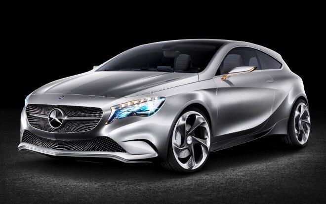 Mercedes Benz Concept A Class Front Three Quarter1 660x413