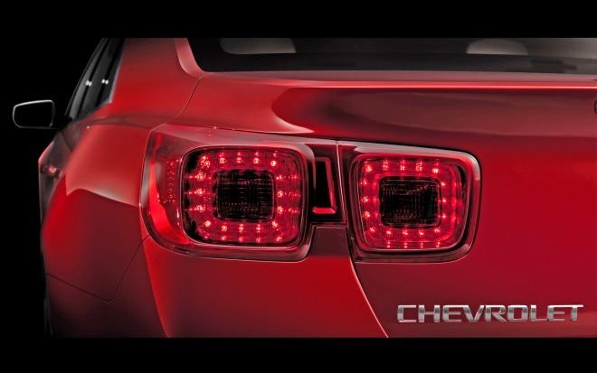 Next Chevrolet Malibu Taillight Teaser21 660x413