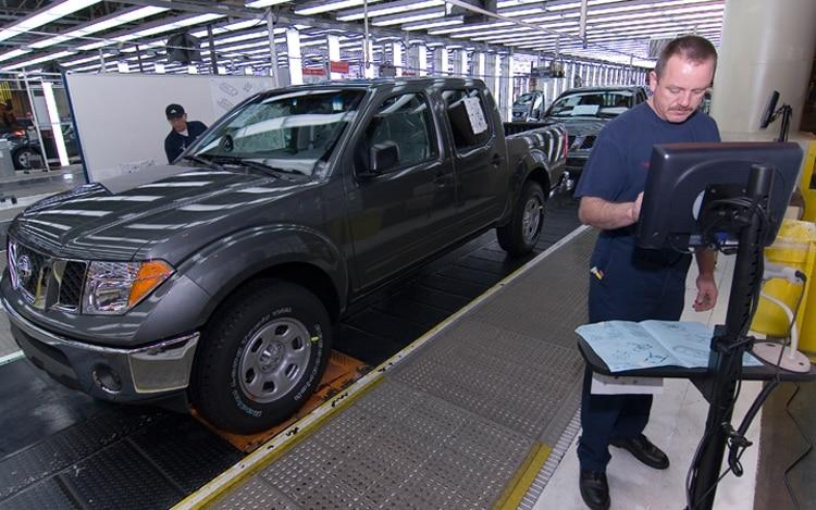 Nissan Factory Smyrna Tn1