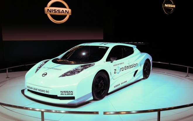 Nissan Leaf Nismo RC Front Three Quarter1 660x413