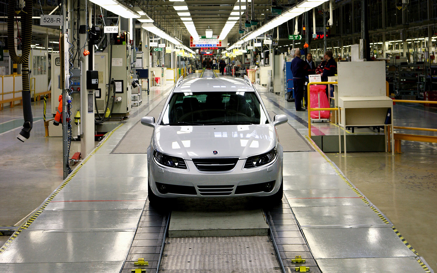 Saab 9 5 Assembly Line1