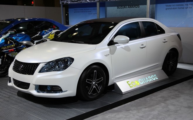 Suzuki Kizashi Ecocharge Concept Left Side View 660x413