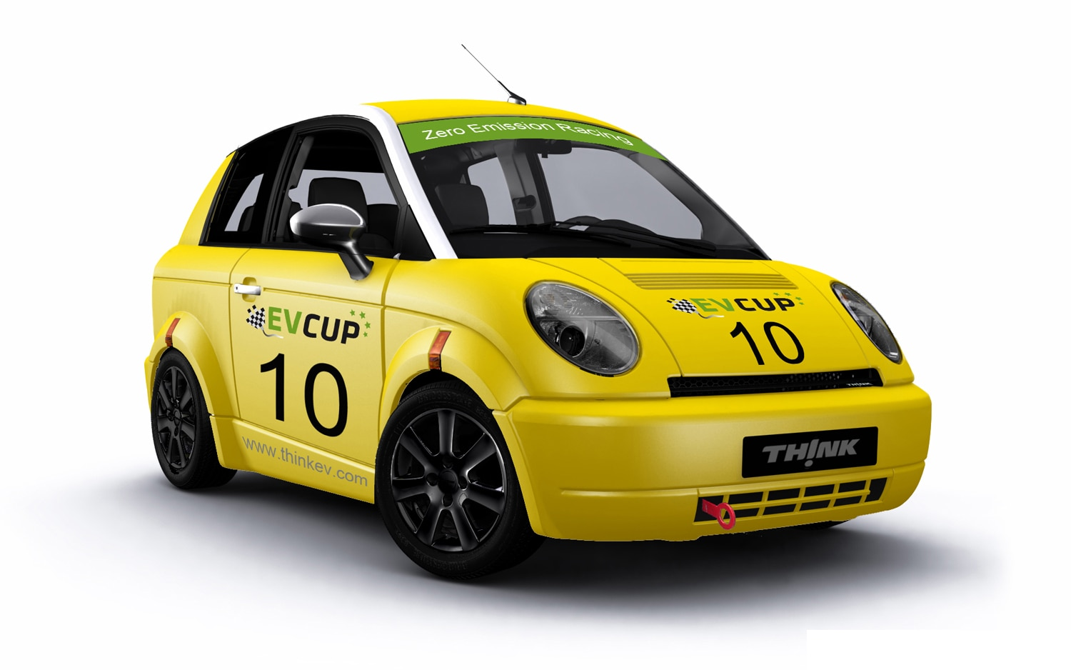 Think City Ev Cup Race Car Front Three Quarter1