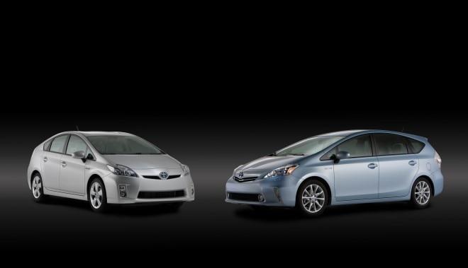 Toyota Prius And Prius V1 660x379