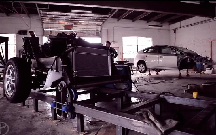 Toyota Prius Roller Coaster