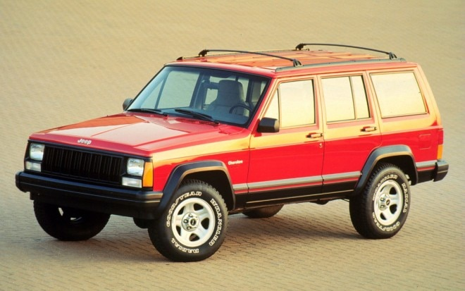 1996 Jeep Cherokee Sport Front Three Quarter1 660x413