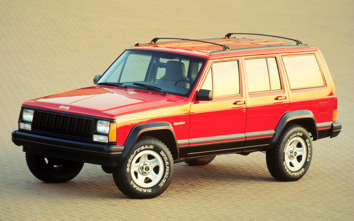 1996 Jeep Cherokee Sport Front Three Quarter1