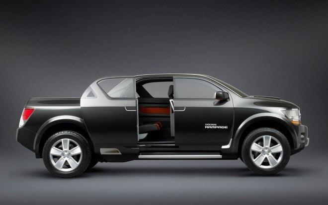 2006 Dodge Rampage Concept Profile1 660x413