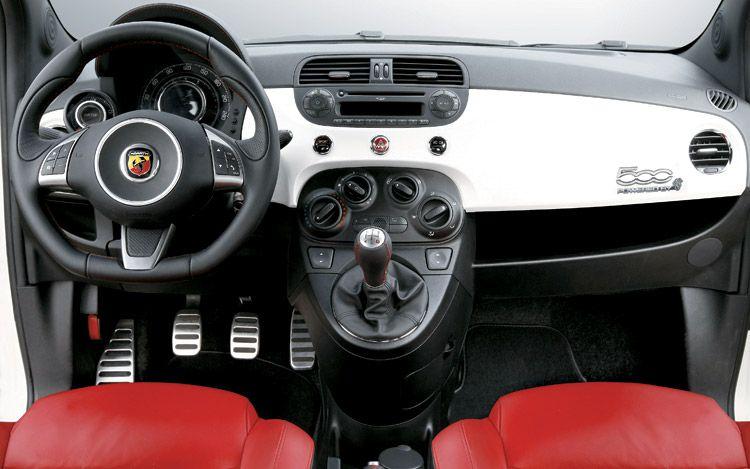 2009 Fiat 500 Abarth Interior1