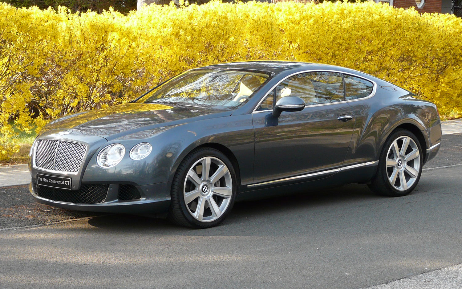 2011 bentley continental gt editors notebook automobile magazine from vanachro Image collections