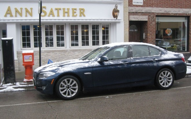 2011 Bmw 535i Side View Chicago1 660x413