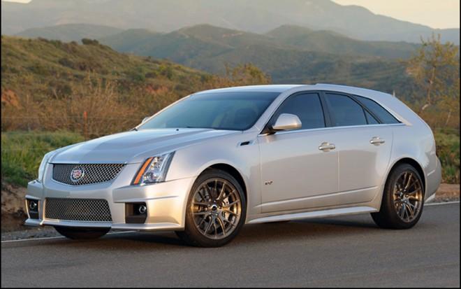 2011 Cadillac Cts V V650 Wagon Front Three Quarter Shot1 660x413