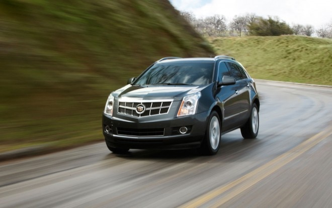 2011 Cadillac Srx Front Three Quarter1 660x413