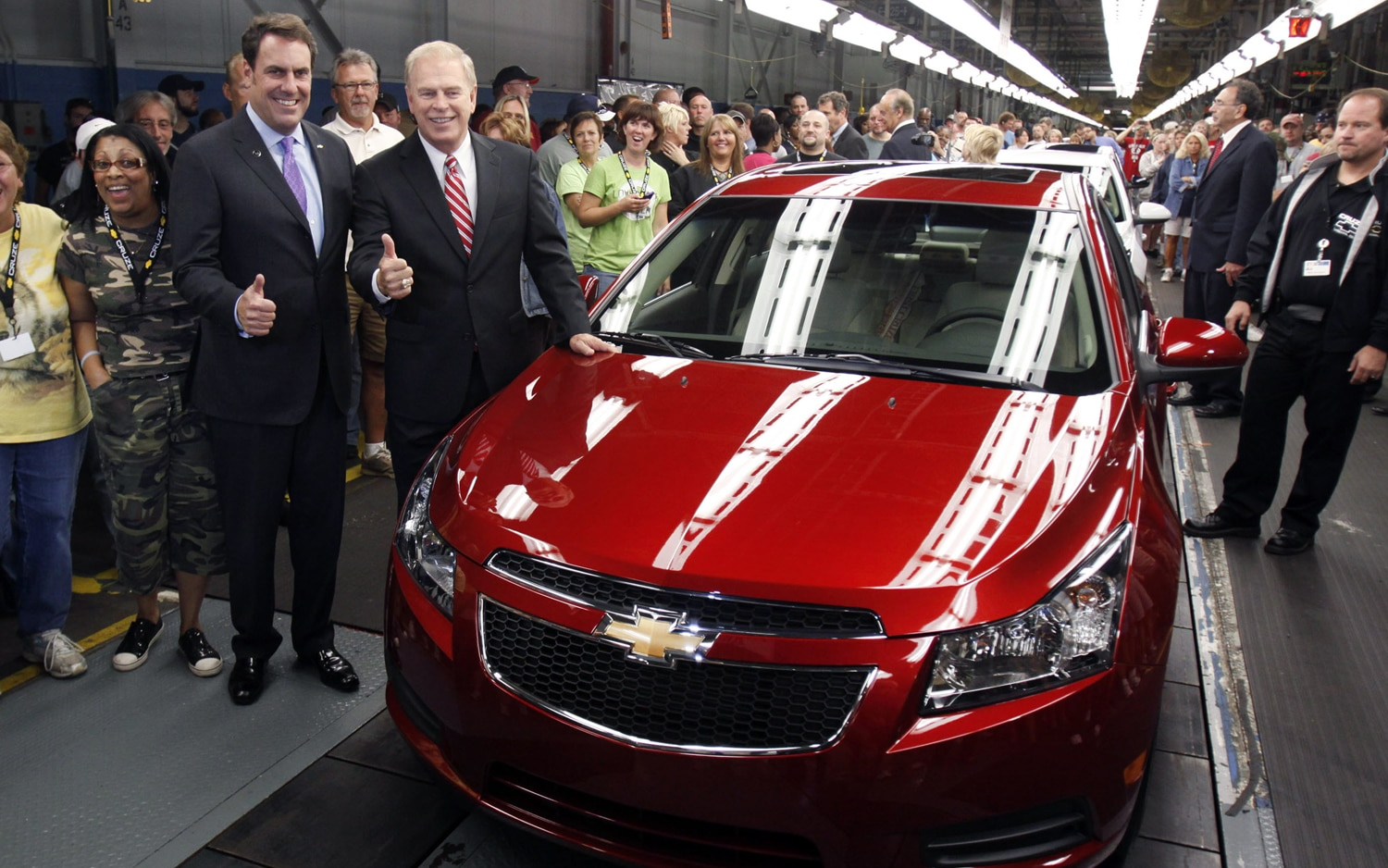 2011 Chevrolet Cruze Lordstown Plant1