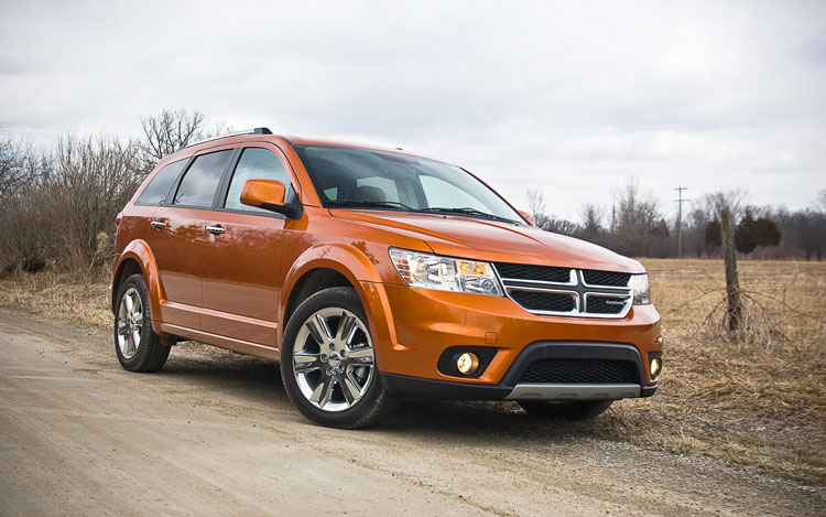 2011 Dodge Journey Lux Awd Front Left View1