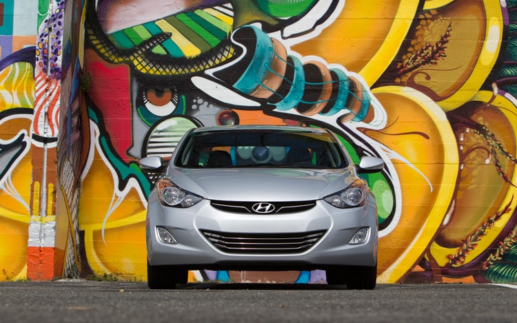 2011 Hyundai Elantra Front End 2
