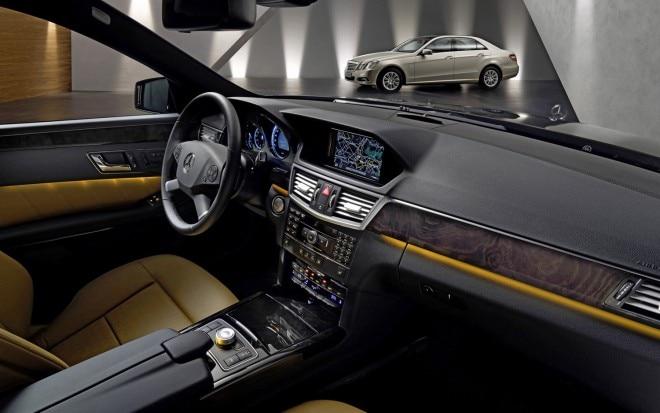 2011 Mercedes Benz E Class Interior
