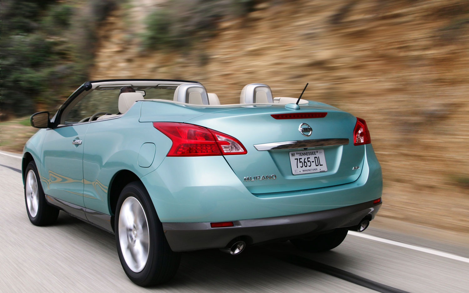 nissan murano crosscabriolet first drive automobile. Black Bedroom Furniture Sets. Home Design Ideas