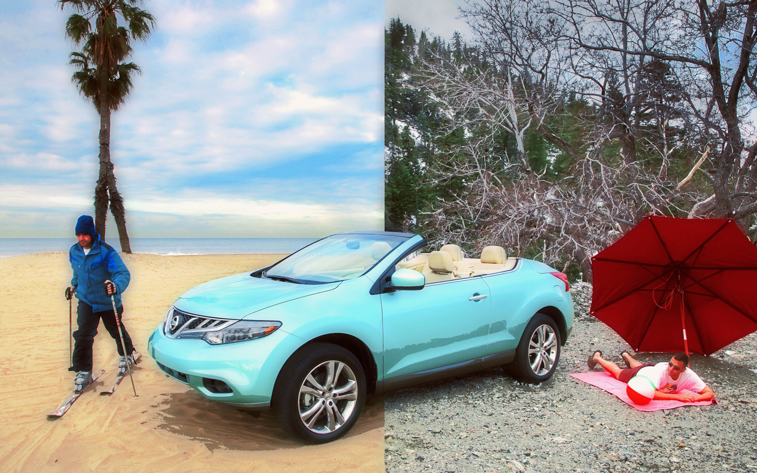 2011 Nissan Murano Crosscabriolet Summer Winter2