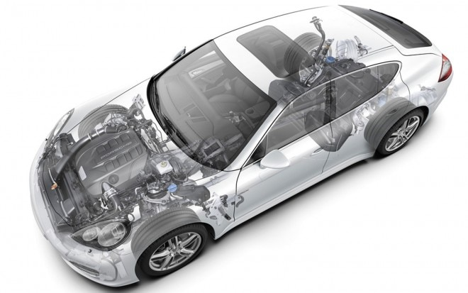 2011 Porsche Panamera Diesel Powertrain Illustration1 660x413
