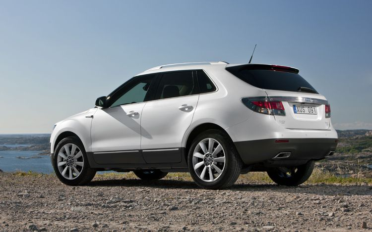 2011 Saab 9 4X Rear Three Quarters