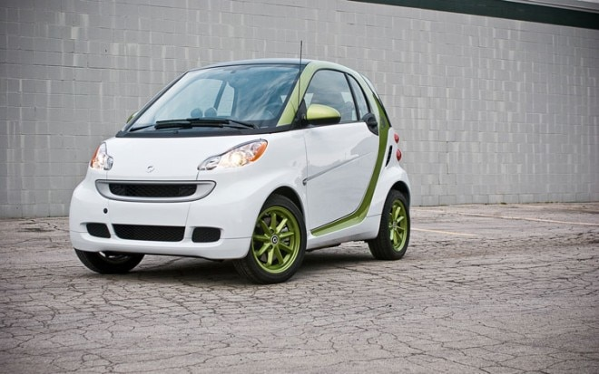2011 Smart Fortwo Electric Drive Front Left View1 660x413