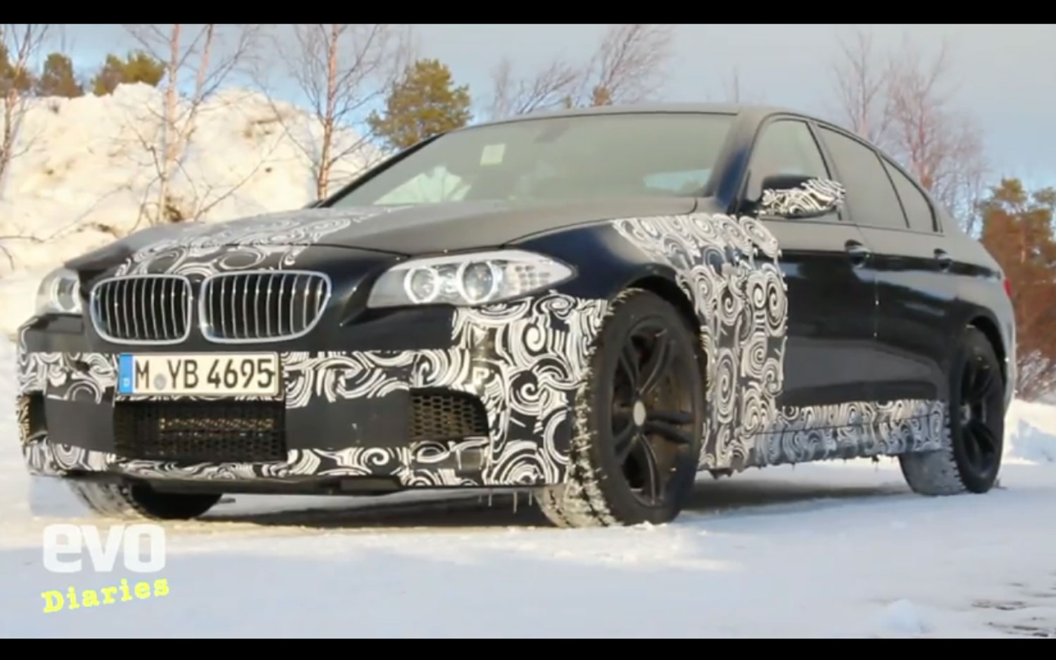 2012 Bmw M5 Video Front Still1