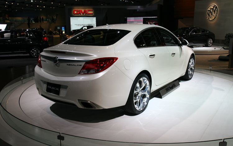 2012 Buick Regal GS Rear Three Quarter1