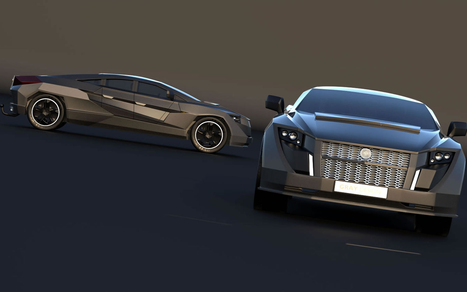 russian tuner dartz dreams up 2000 hp armored yacht puller. Black Bedroom Furniture Sets. Home Design Ideas