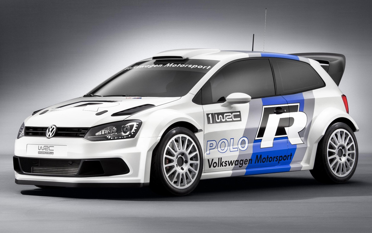 2013 Volkswagen Polo R Wrc Front Three Quarters View11