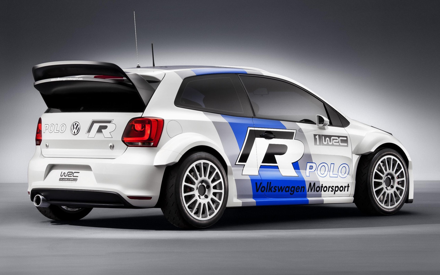 2013 Volkswagen Polo R Wrc Rear Three Quarters View11