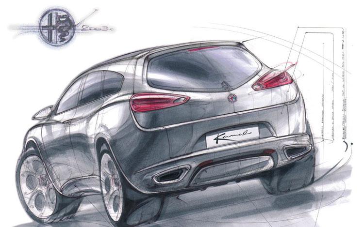Alfa Romeo Kamal Concept 21