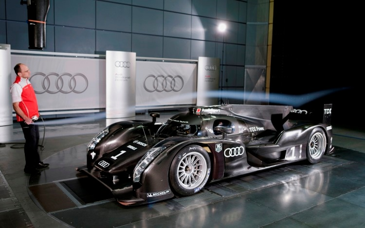 Audi R18 Tdi Race Car Mini Wind Demo