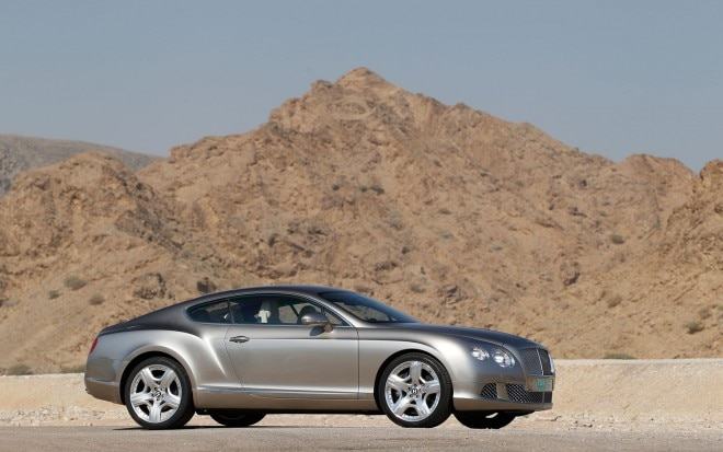 Bentley New Continental Gt1 660x413