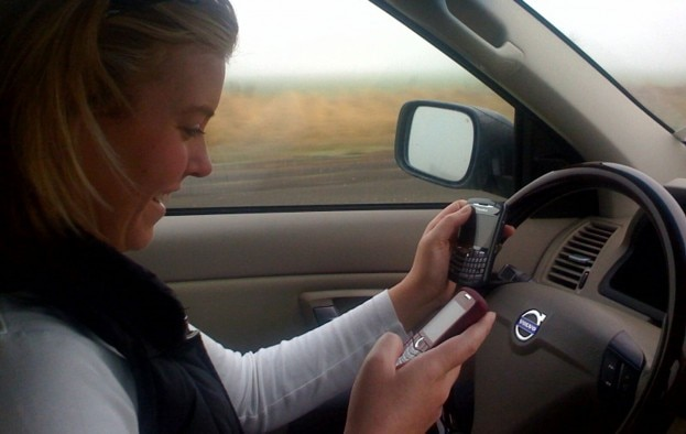 Double Texting While Driving