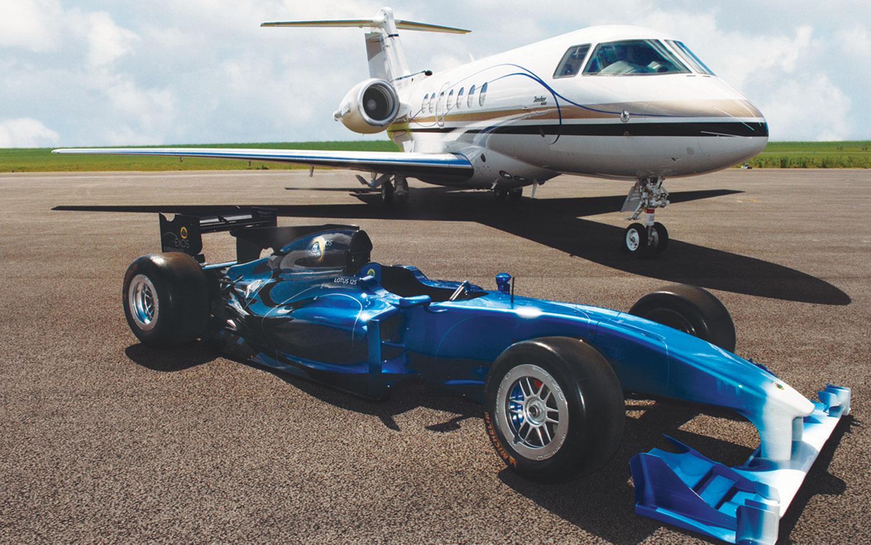 Hawker 4000 Lotus T1251