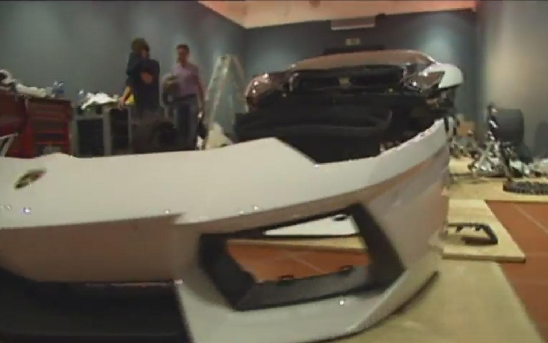 Lamborghini Aventador Lp700 4 In Museum