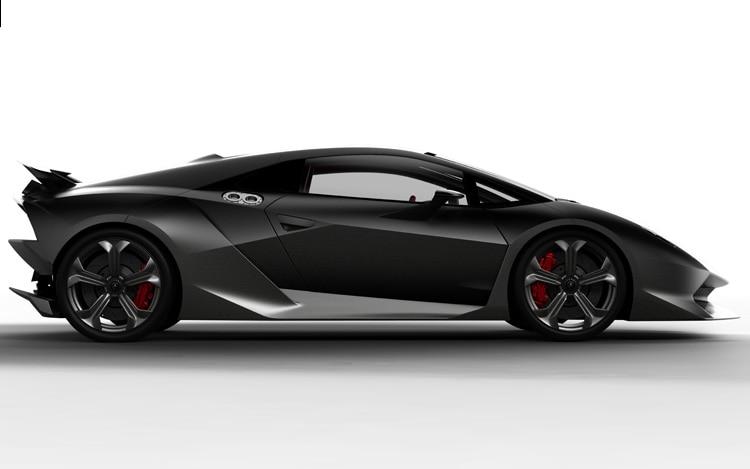 Lamborghini Sesto Elemento Concept Side Shot
