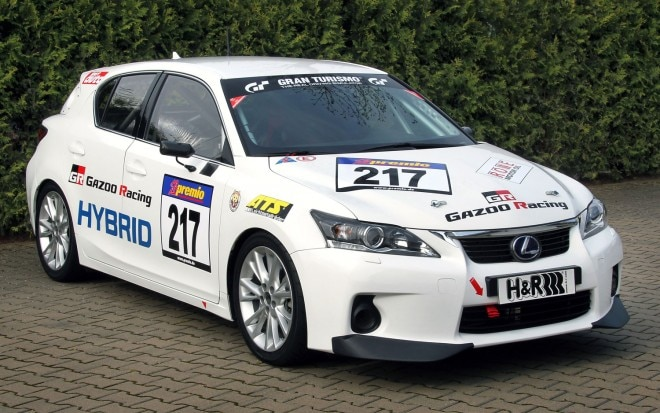 Lexus Ct200h Race Car Front Three Quarter1 660x413