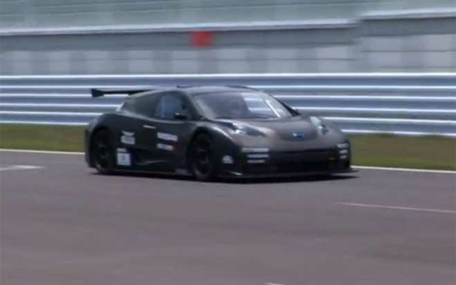 Nissan Leaf Nismo Rc On Track 660x413