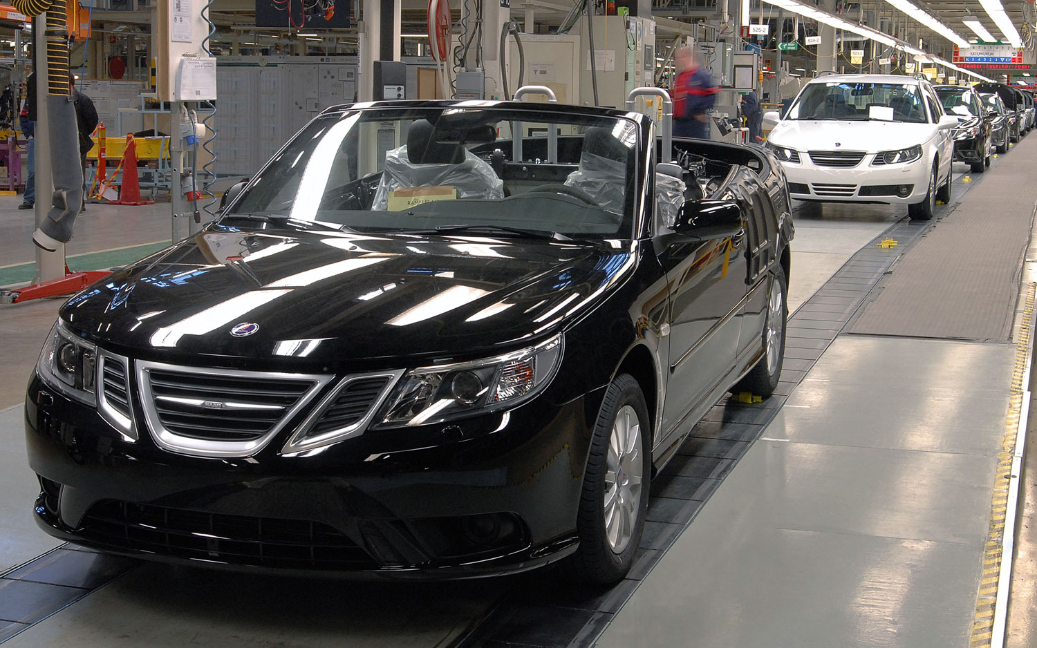 Saab 9 3 Assembly Line1