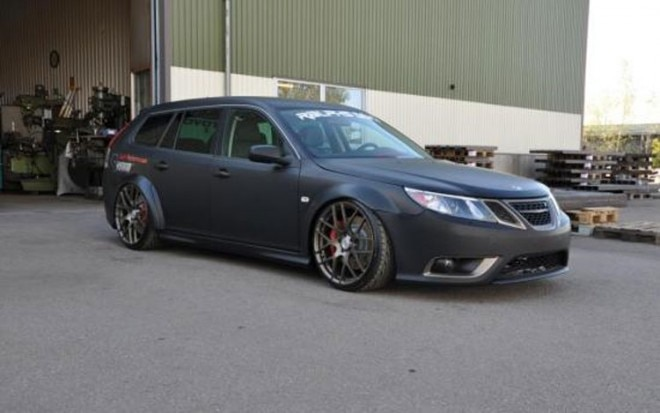 Saab 9 3 Srt10 Megapower Front Three Quarter1 660x413