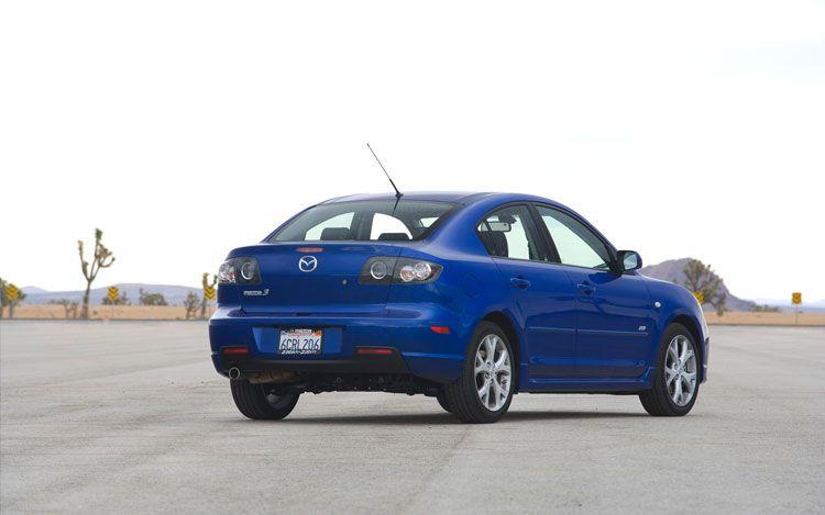 2008 Mazda3 Rear Three Quarter1