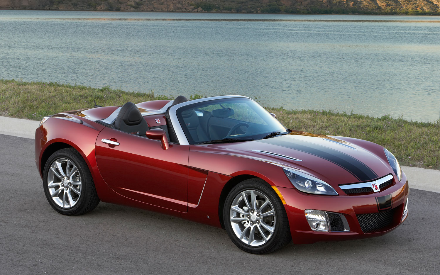 2009 Saturn Sky Redline Front Three Quarter