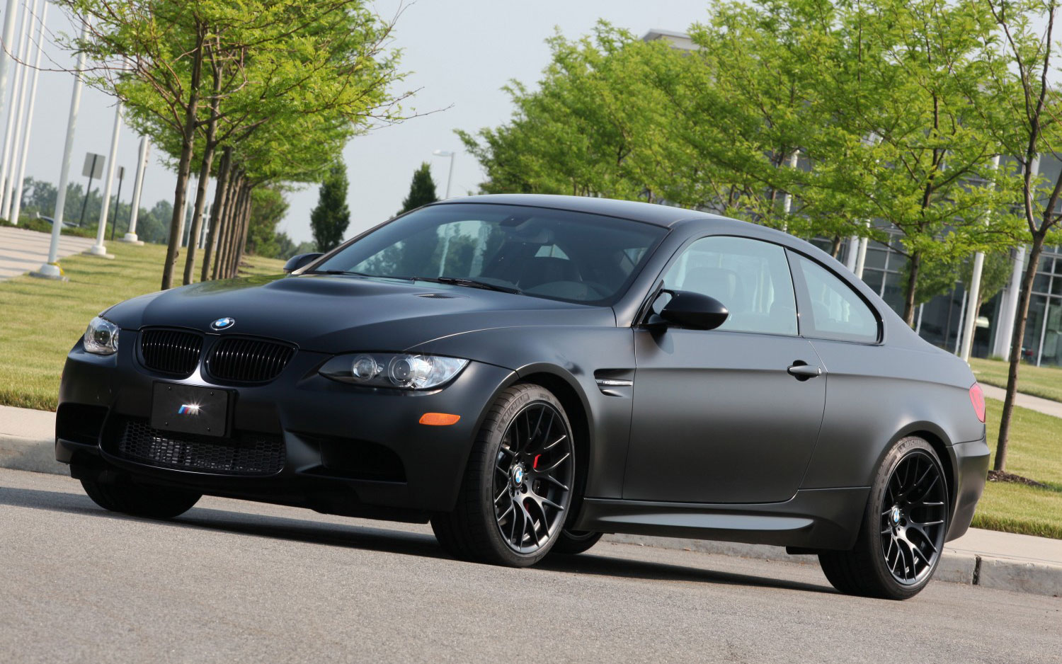 2011 BMW M3 Frozen Black 011