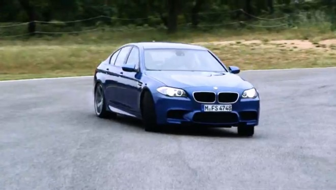 2011 BMW M5 Drifting1 660x374
